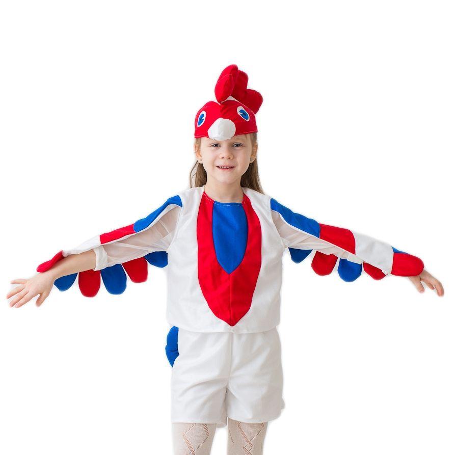 Детский костюм Белый петушок (24) от Vkostume