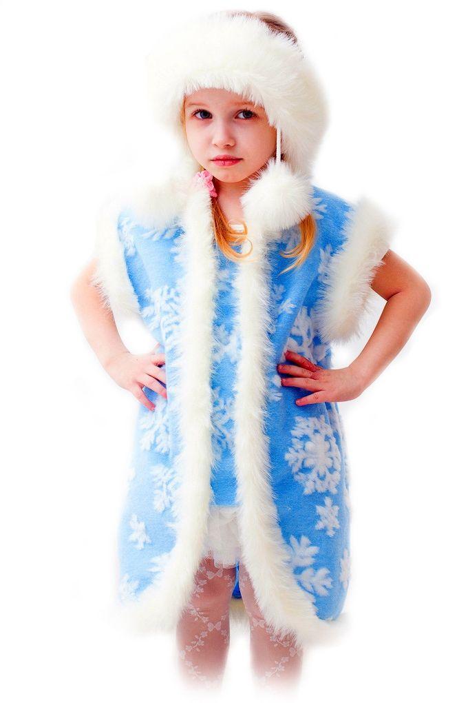 Детский костюм Нарядной Снежинки (32-34) детский костюм зимней снежинки 32