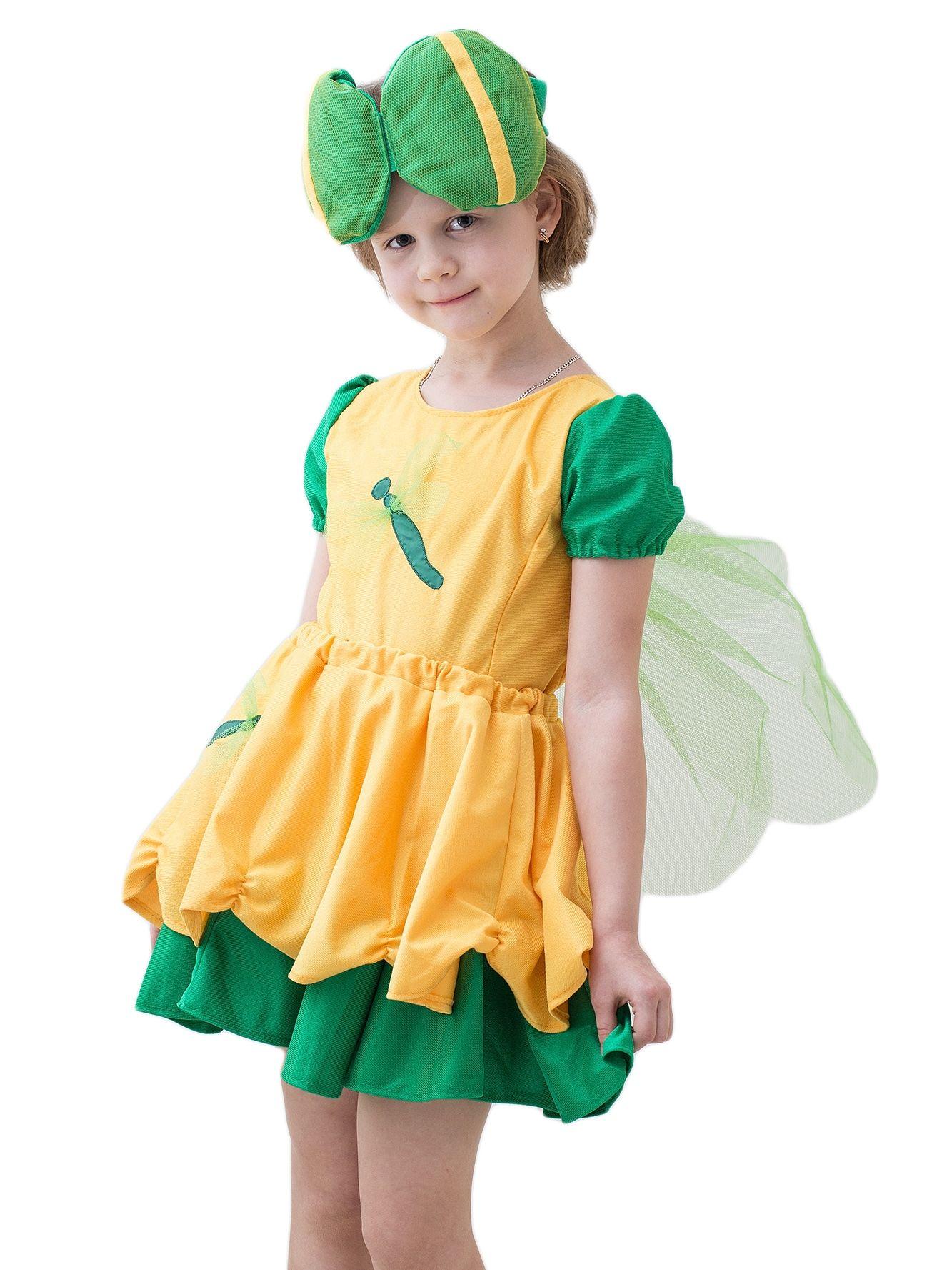 Детский костюм Желтой стрекозки (46) - Животные и зверушки, р.46