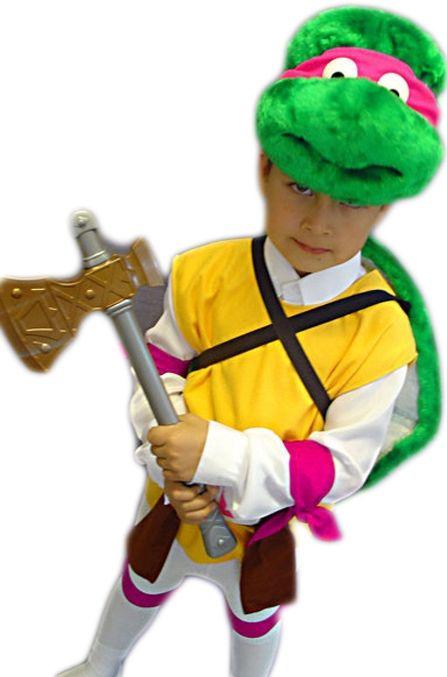 Детский костюм Черепашки Донателло (32-34) детский костюм черепашки рафаэль 32 34