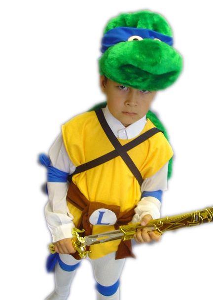 Детский костюм черепашки Леонардо (32-34) детский костюм джульетты 32 34