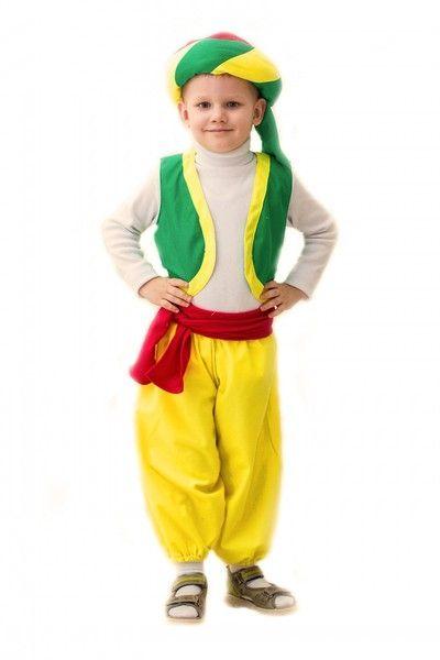 Яркий костюм Алладина детский (24) костюм ежика детский 24