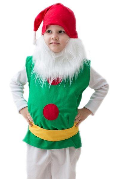 Детский костюм Бородатого гномика (32-34) детский костюм джульетты 32 34