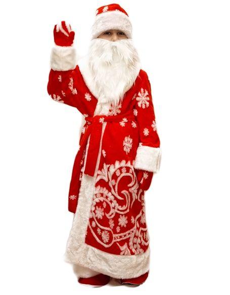 Меховой костюм Деда Мороза детский (34)  недорого