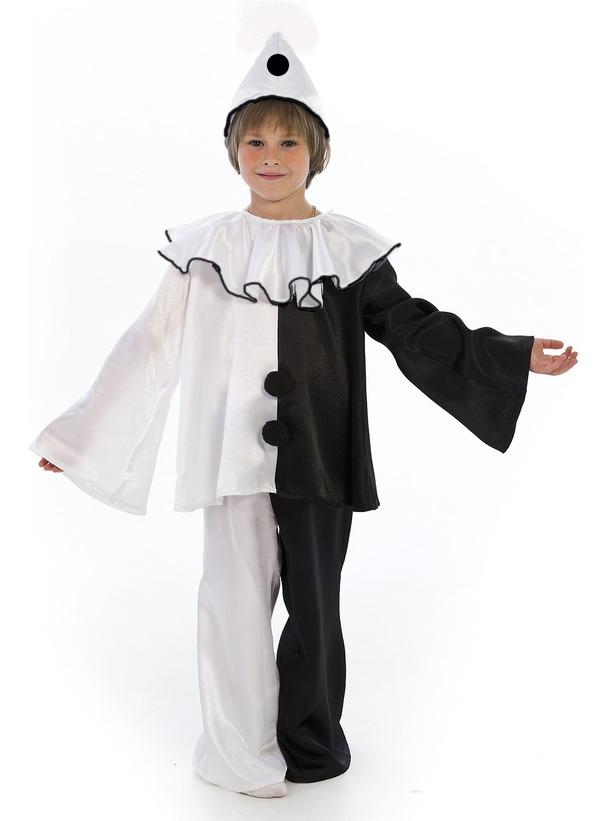 Карнавальный костюм Пьеро (46) - Сказочные герои, р.46