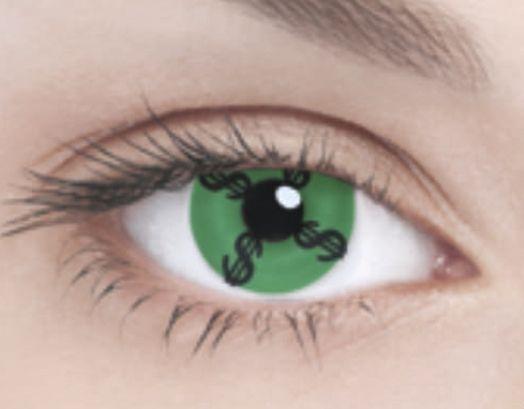 Линзы Dollar Green - Линзы