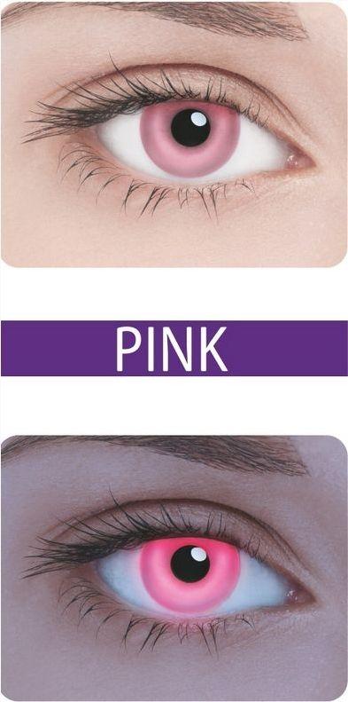 Неоновые линзы Neon Pink - Линзы