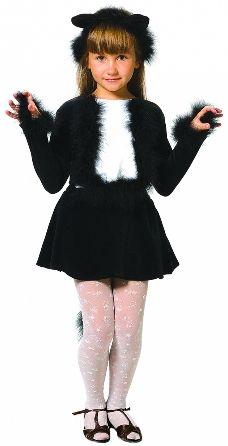 Карнавальный костюм кошечка черная (30) -  Животные и зверушки