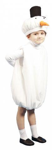 Карнавальный костюм Снеговика (32)