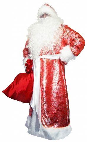 Карнавальный костюм Дедушки Мороза (Onesize Queen) проф пресс внучка дедушки мороза