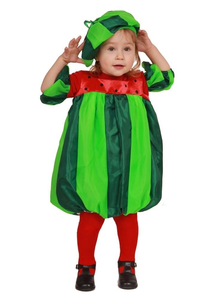 Карнавальный костюм Арбуз (26-28) костюм прекрасной шапочки 30