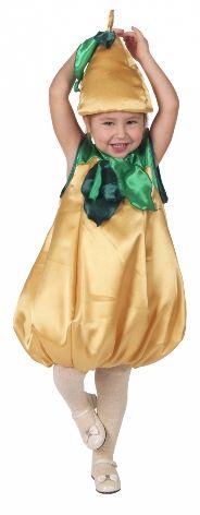 Карнавальный костюм Груша (30-34) костюм прекрасной шапочки 30