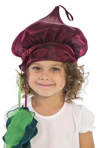 Карнавальная шапочка Свекла (28-32) детский костюм свеклы 28 32