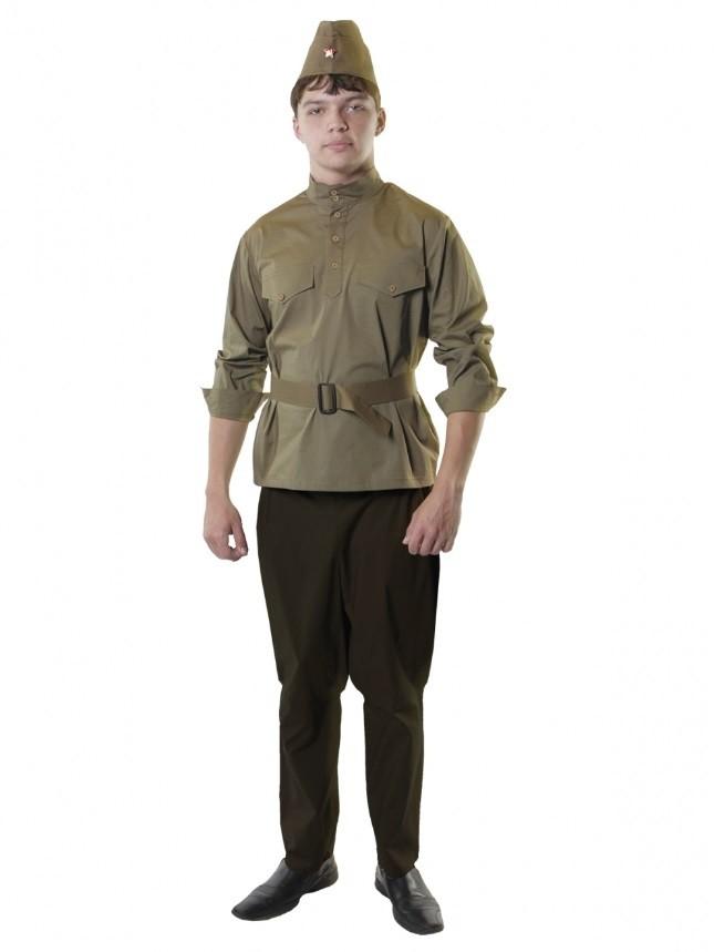 Военный комплект для мужчин (52-54)