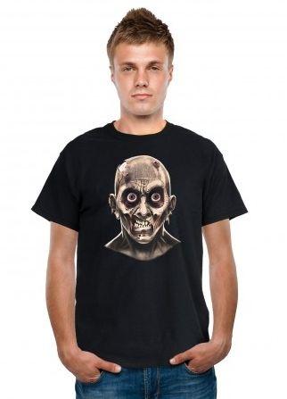 Футболка Лицо Зомби (50) -  Зомби и мертвецы