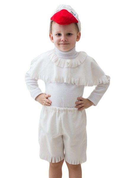 Белый костюм гуся (32-34) детский костюм джульетты 32 34