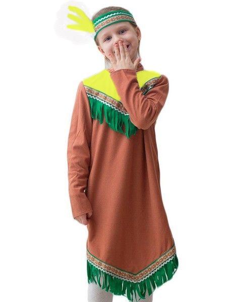 Детский костюм Индеанки (34) от Vkostume