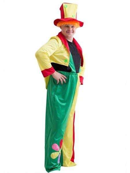 Костюм яркого клоуна (50-54) комплект клоуна 52 54