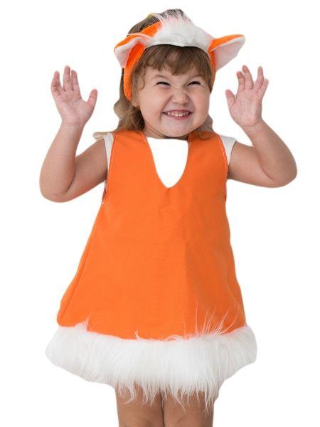 Костюм лисоньки-малышки (24-26) детский костюм малышки золушки 24