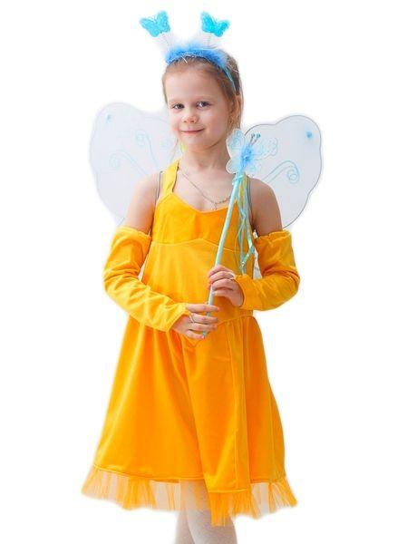 Костюм Желтой сказочной феи (32-34) детский костюм озорного клоуна 34