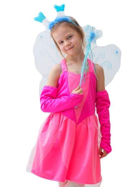 Розовый костюм Феи (32-34) детский костюм фиолетовой феи виндс 34