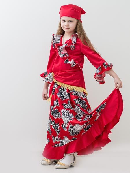 Красный костюм цыганочки (46) купить юбку coast плесе длинную