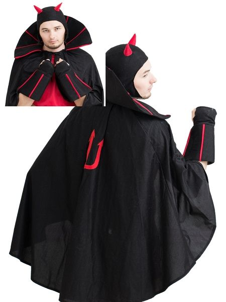 Черный костюм Чертенка (52-54) -  Дьяволицы и чертовки