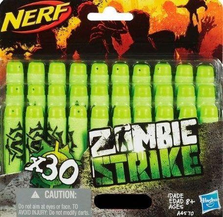 Комплект 30 стрел NERF HASBRO (UNI) игрушечное оружие nerf hasbro зомби страйк 30 стрел