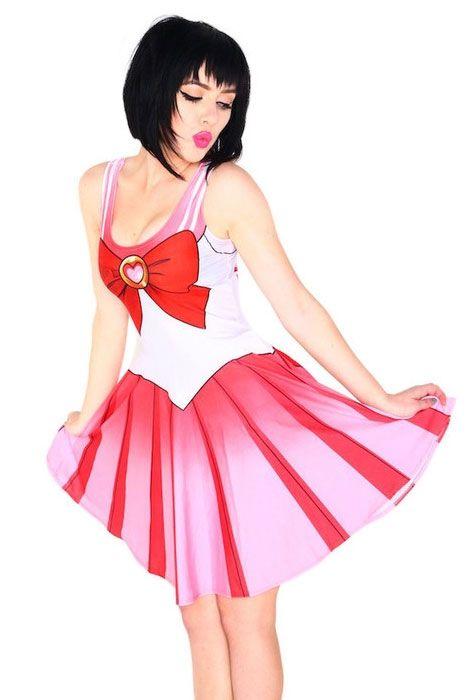 Розовое платье Сейлор мун (44) - Сказочные герои, р.44
