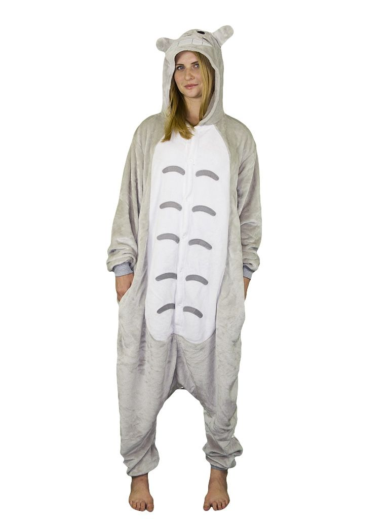 Пижама-кигуруми Тоторо - купить на Vkostume.Ru c9d6950aafa37