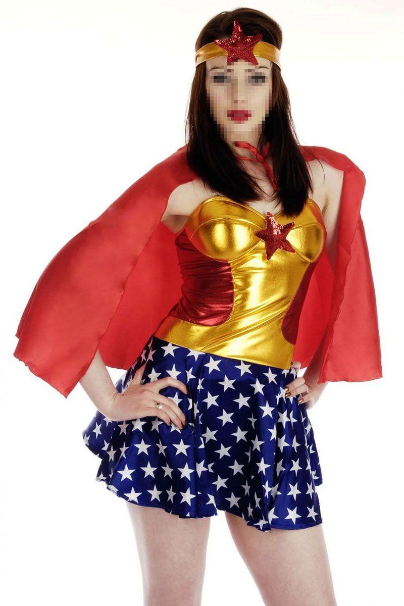 Костюм мисс Америки (44) - Супергерои и комиксы, р.44