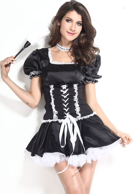Костюм заботливой горничной (40-44) костюм снегурочки конфетки 40 44