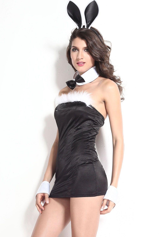 Костюм сексуальной зайки (40-44) костюм снегурочки конфетки 40 44