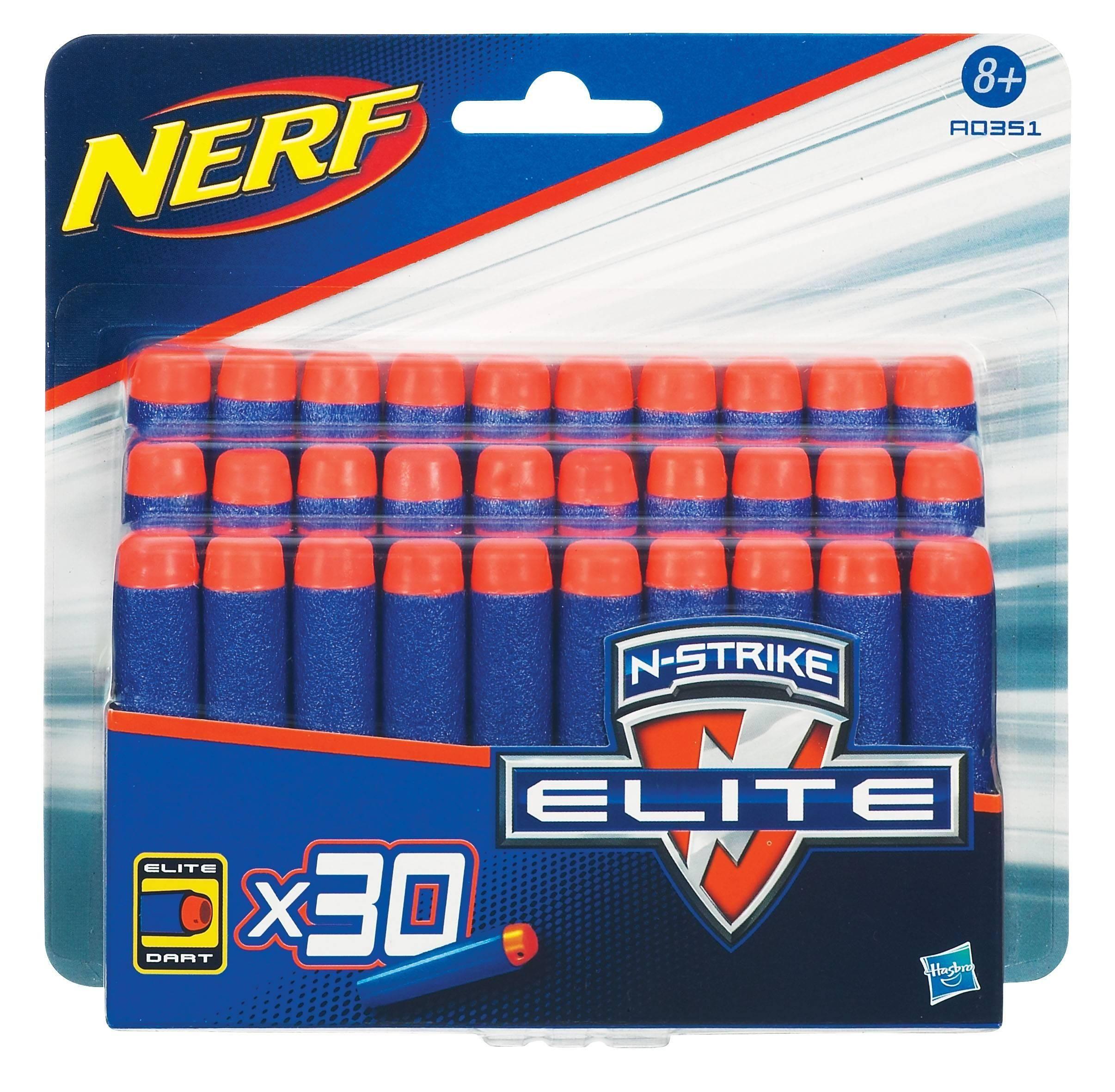 Комплект 30 стрел для бластеров Nerf Hasbro - Аксессуары на карнавал