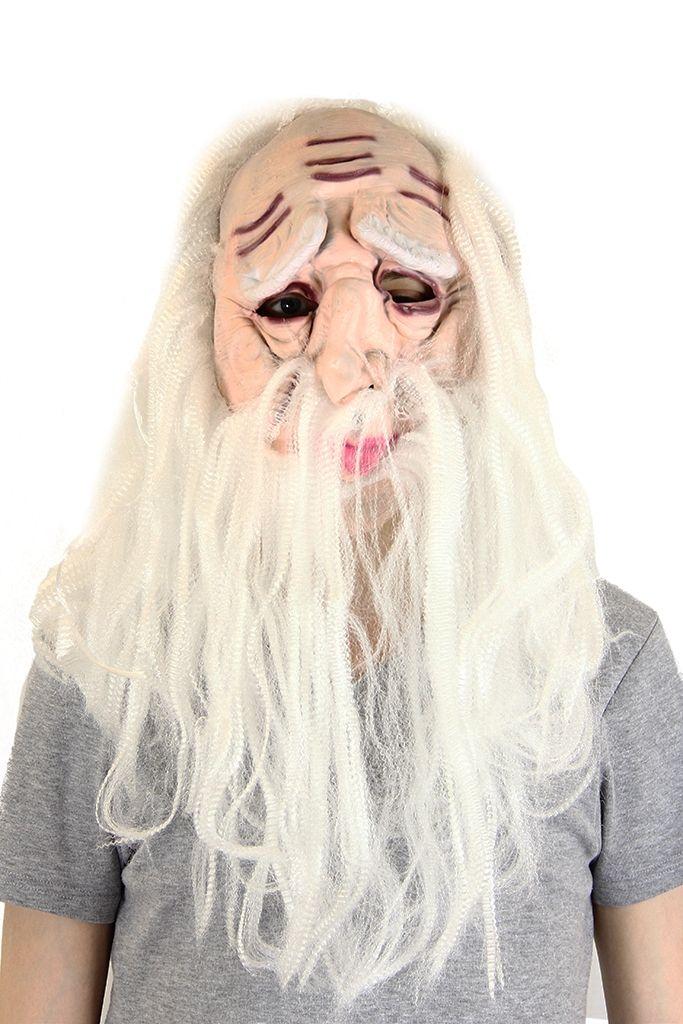 Латексная маска Сарумана (40) - Киногерои, р.40