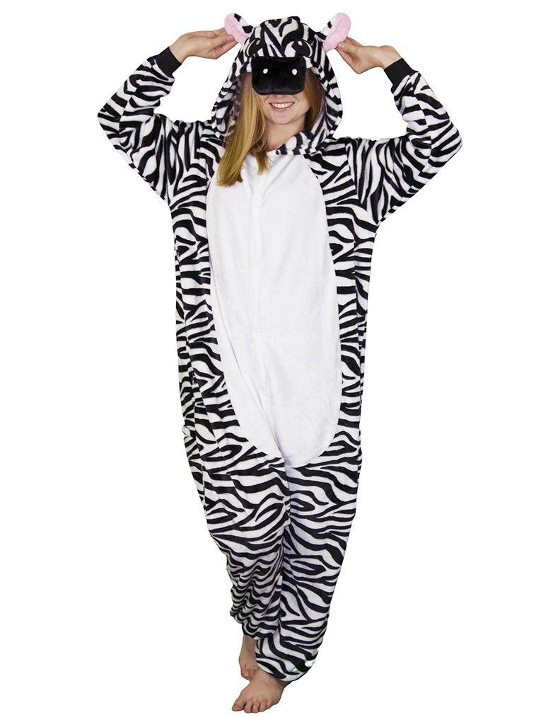 Кигуруми зебры (42-44)