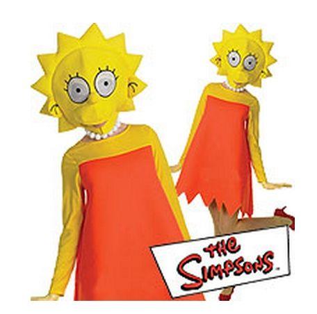 Костюм Лизы Симпсон (46-48) костюм радужной клоунессы 46 48