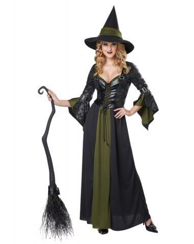 Классический костюм ведьмочки (50-52)