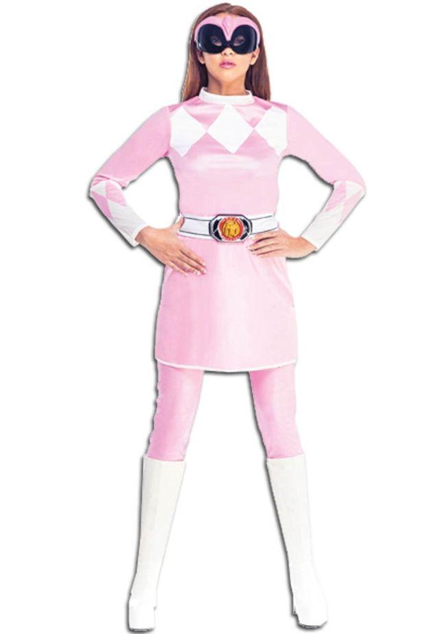 Женский костюм розового рейнджера (46-48)