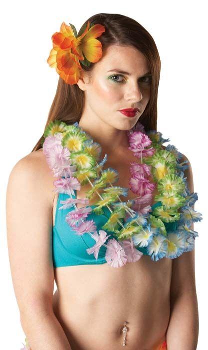Гавайские фиолетовые бусы - Национальные костюмы