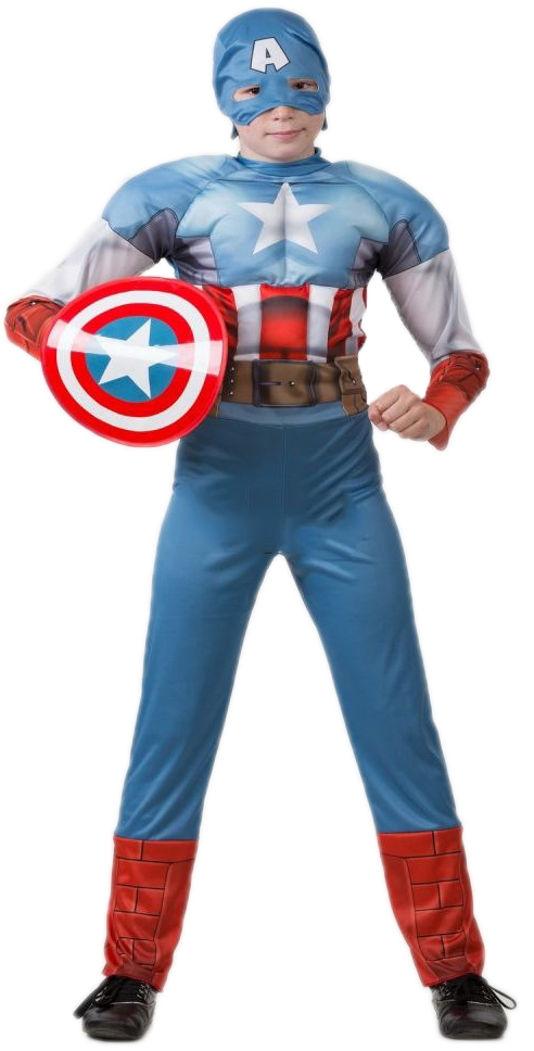 Костюм отважного Капитана Америки (28) - Супергерои и комиксы, р.28