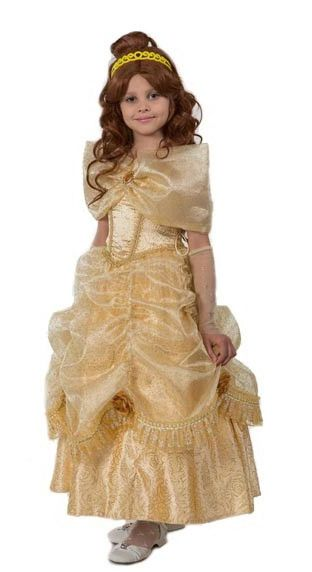 Костюм принцессы Белль (36) красавица и чудовище dvd книга