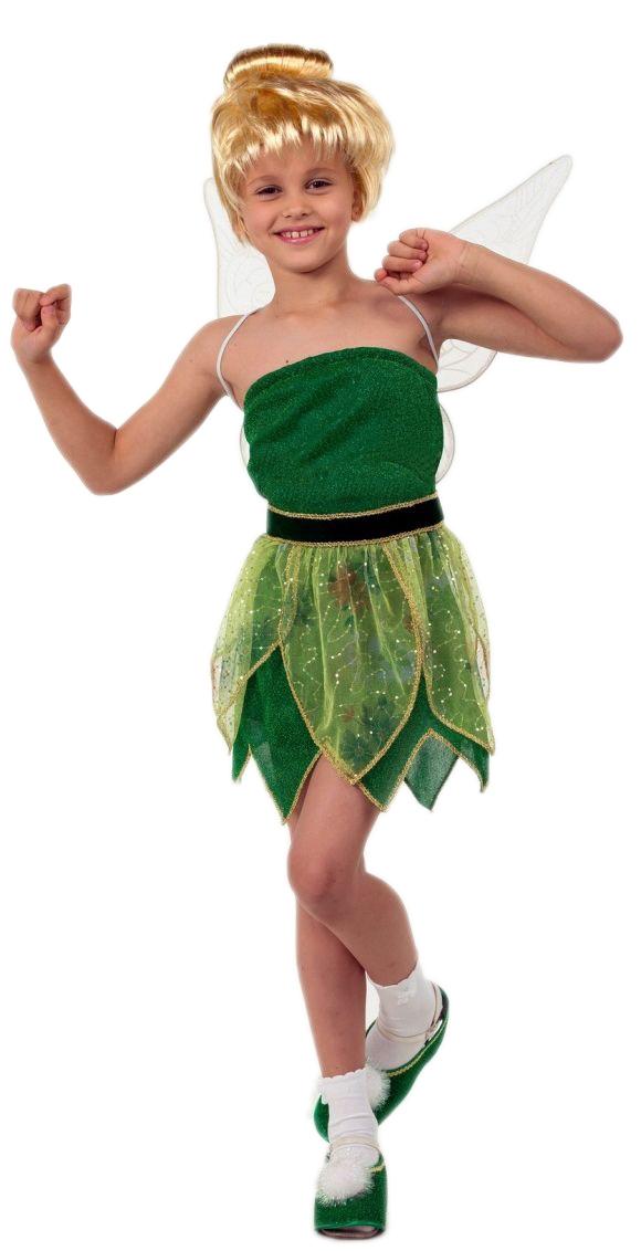 Костюм юной феи Динь-Динь (32) костюм феи динь динь зеленый 46 48