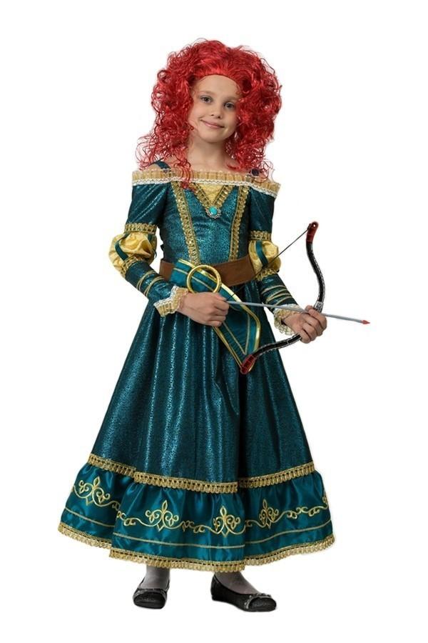 Костюм принцессы Мериды (34) детский костюм озорного клоуна 34