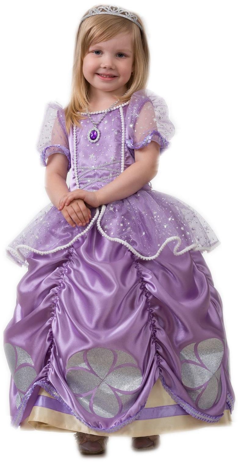 Детский костюм Софии Прекрасной (34) детский костюм принцессы авроры 34