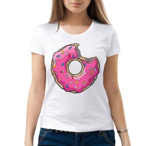 Женская футболка Пончик (44) - Сказочные герои, р.44
