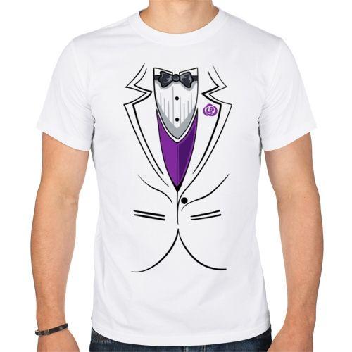 Парная мужская футболка Жених (XL) - Футболки с принтами