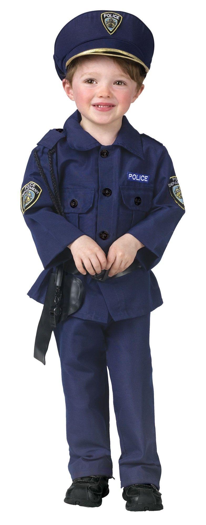 Детский костюм маленького полицейского (30)