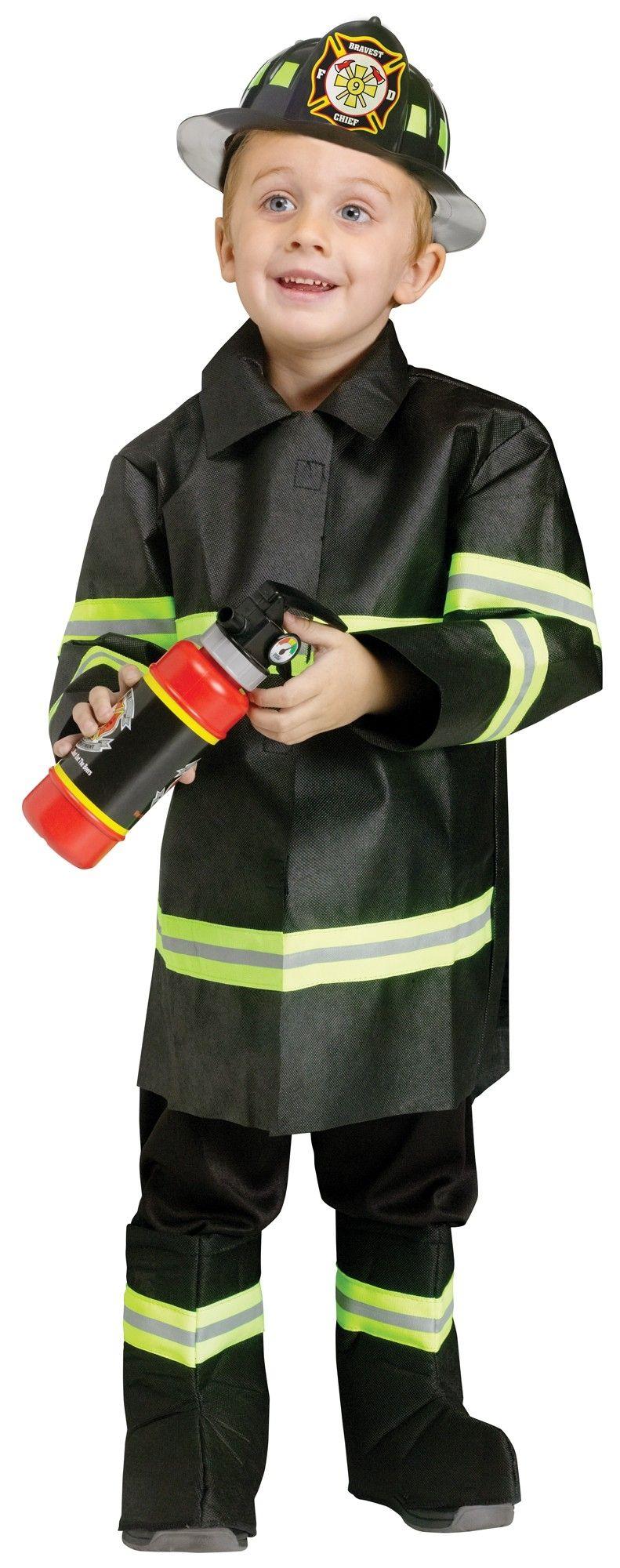 Детский костюм Начальника пожарных (28) пособия для пожарных частей