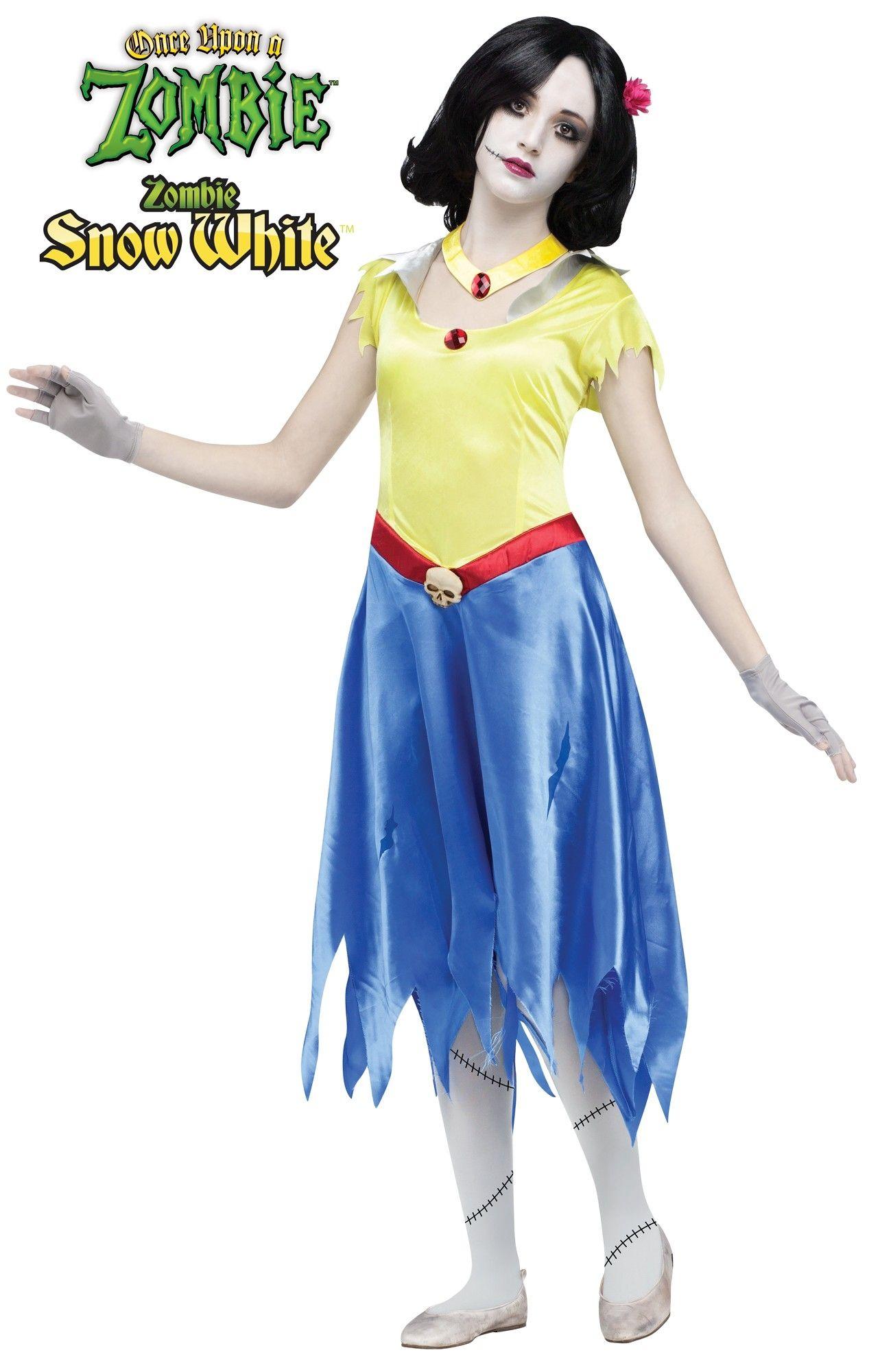 Детский костюм Зомби Белоснежки (34-38) -  Зомби и мертвецы